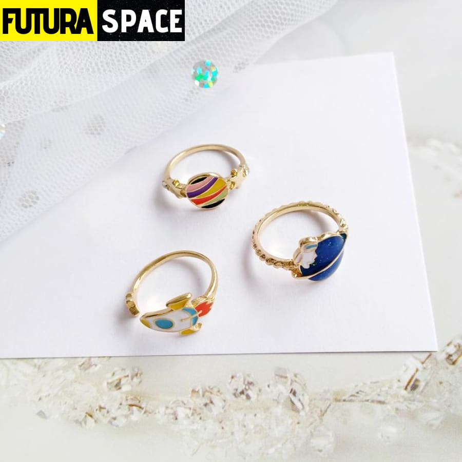 SPACE RING - GIRLY