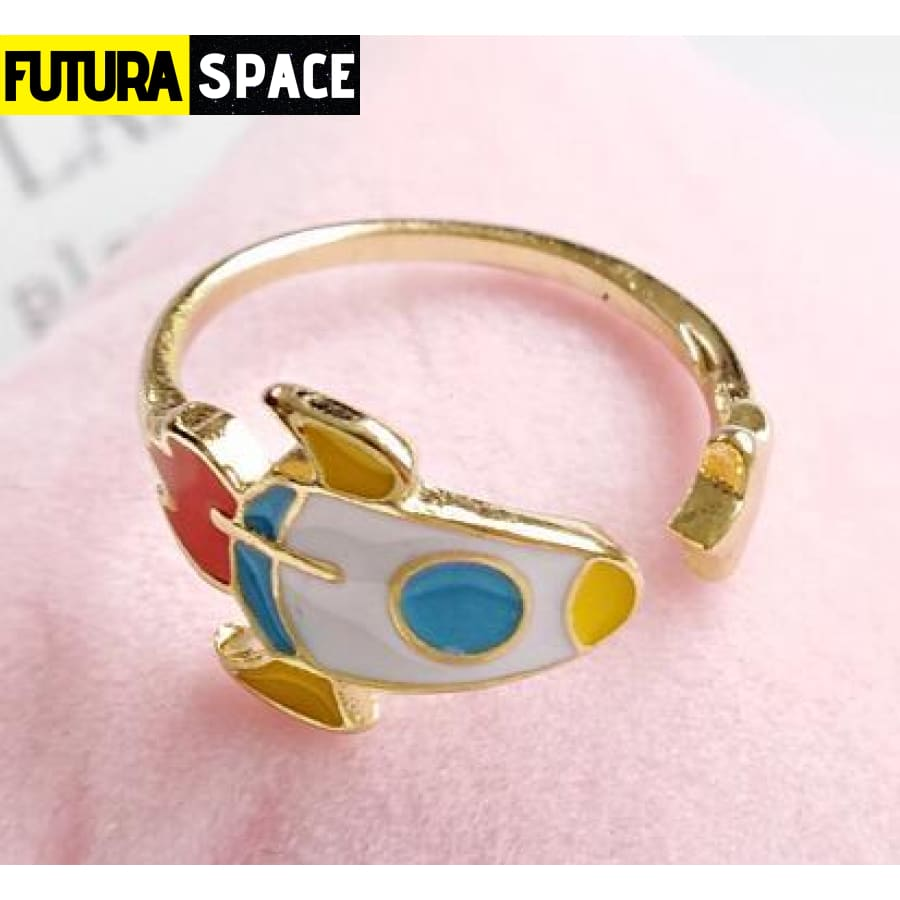SPACE RING - GIRLY - Rocket - 100007323