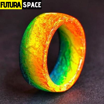 SPACE RING - OTHER WORLD - 6 / Colors Fashion Ring -