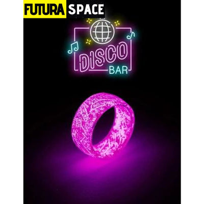 SPACE RING - OTHER WORLD - 6 / Purple Woman Ring - 100007323