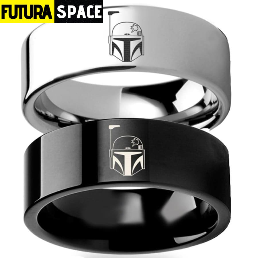SPACE RING - SILVER BLACK - 100007323