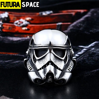 SPACE RING - STORM TROOPER MASK - 100007323