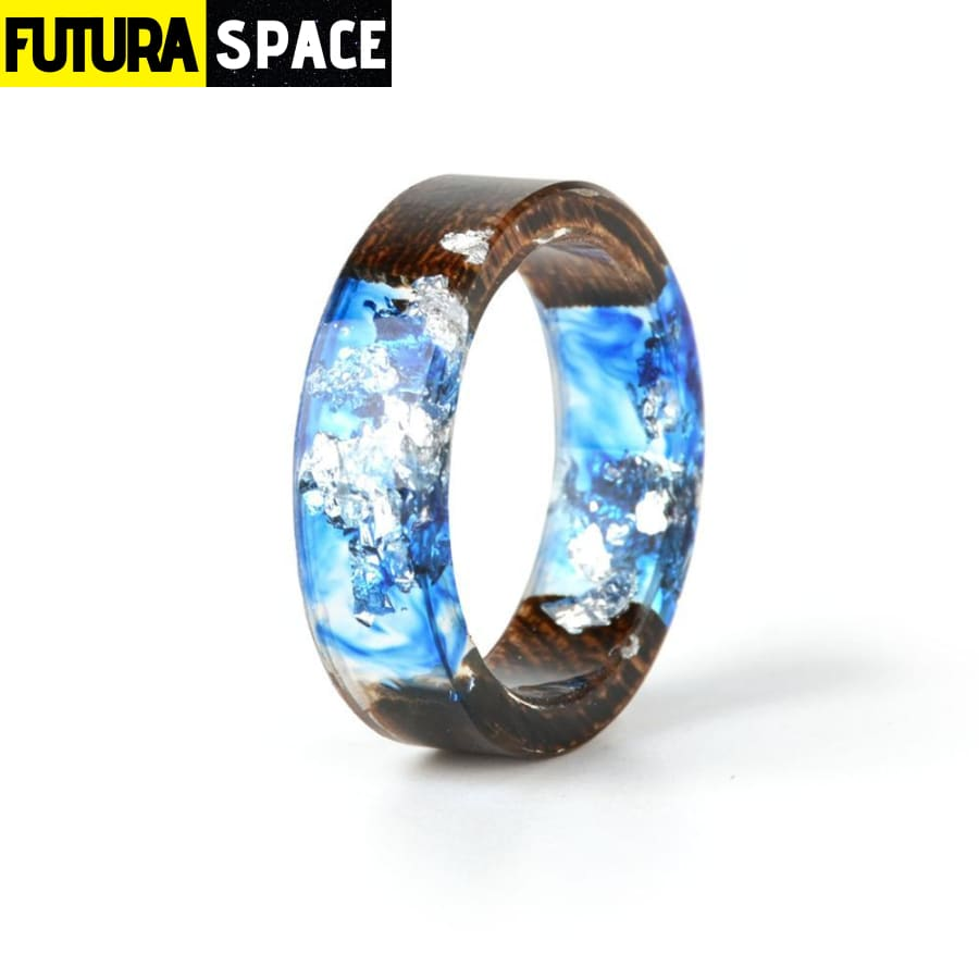 SPACE RING - WOOD RESIN