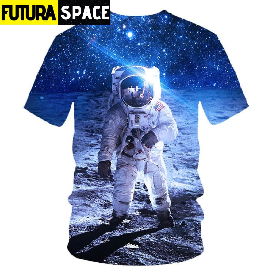 SPACE SHIRT - 3D ASTRONAUT PRINT