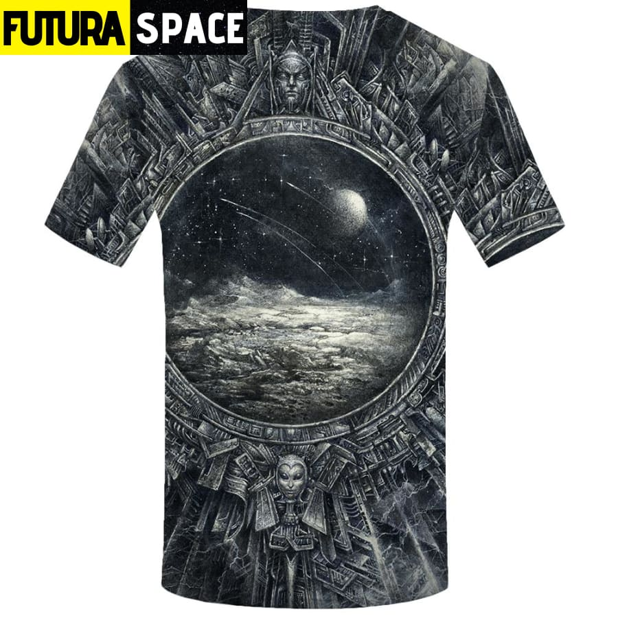 SPACE SHIRT - ALIENS PHASE