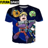 SPACE SHIRT - Final Space off white harajuku - 200000783