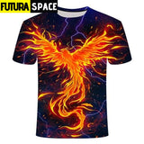 SPACE SHIRT - Galaxy space psychedelic floral - TX229 / S /