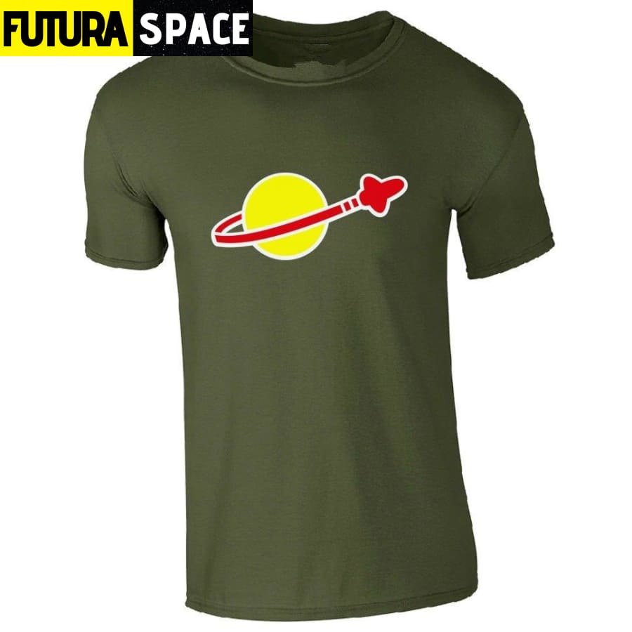 SPACE SHIRT - LEGO CLASSIC - ARMY GREEN / S - 200000783