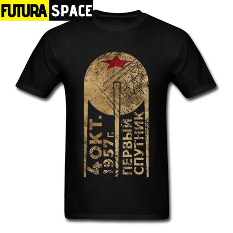 SPACE SHIRT - PROGRAM TOPS RUSSIAN - Black / XS - 200000783