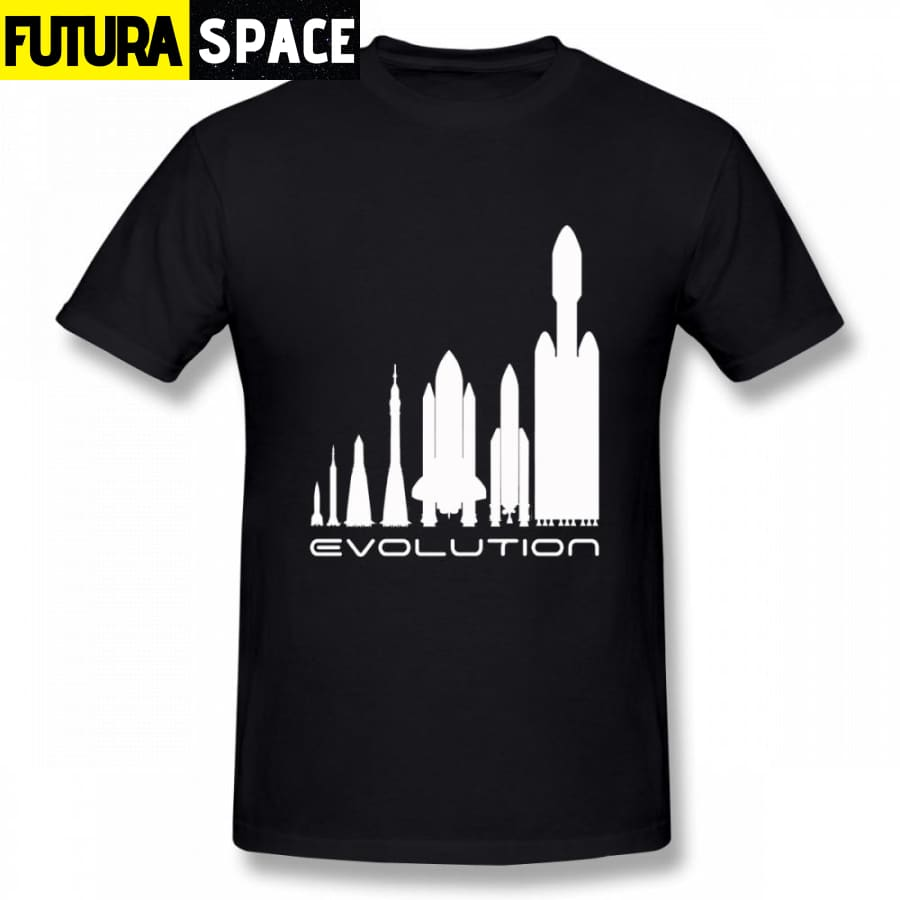 SPACE SHIRT - SPACETIME EVOLUTION - Black / S - 200000783