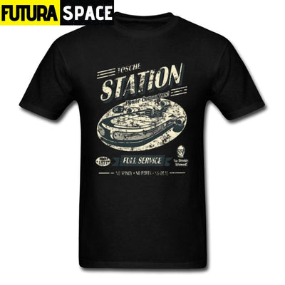 SPACE SHIRT - TOSCHE STATION - Black / XS - 200000783