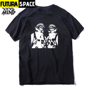 SPACE SHIRT - TWO CATS - 200000783
