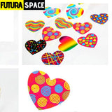 SPACE STICKERS - 1 Roll(100PCS)/LOT Outer space - 100PCS