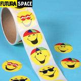 SPACE STICKERS - 1 Roll(100PCS)/LOT Outer space - 100PCS hat