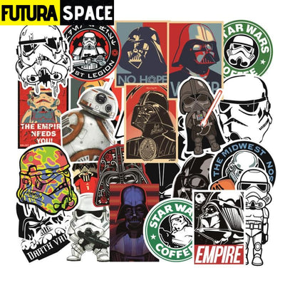 SPACE STICKERS - 10 pcs Star Trek - 10pcs - 200003295