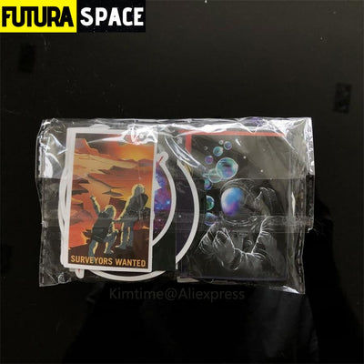 SPACE STICKERS - 100 pieces for Wall decor - 200003295