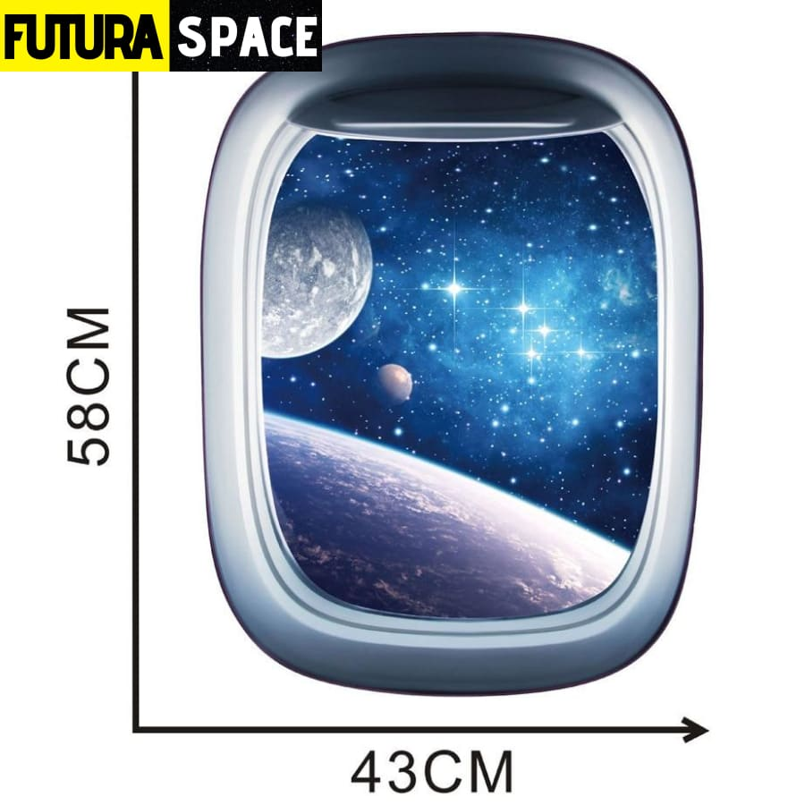 SPACE STICKERS - 3D Space Galaxy - 200001461