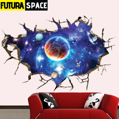 SPACE STICKERS - 3D Star Universe - 200001461