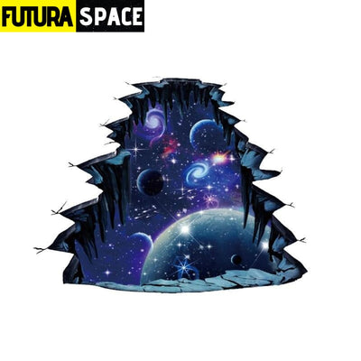 SPACE STICKERS - 3D Star Universe - Gray - 200001461