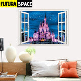 SPACE STICKERS - 3d Window - 11 PAW031 - 200001461