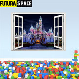 SPACE STICKERS - 3d Window - 6 PAW009 - 200001461