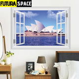 SPACE STICKERS - 3d Window - 29 ZYPA14194 - 200001461