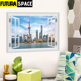 SPACE STICKERS - 3d Window - 22 ZYPA14180 - 200001461