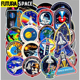 SPACE STICKERS - 45 Pcs/lot Outer Space - 200003295