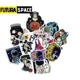 SPACE STICKERS - 50Pcs Futura Space - 200003295