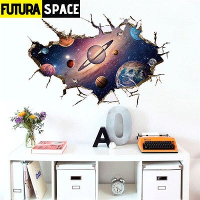 SPACE STICKERS - Planet 3D - B - 200001461