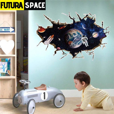 SPACE STICKERS - Planet 3D - A - 200001461