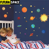 SPACE STICKERS - The Solar System - Multi - 200001461