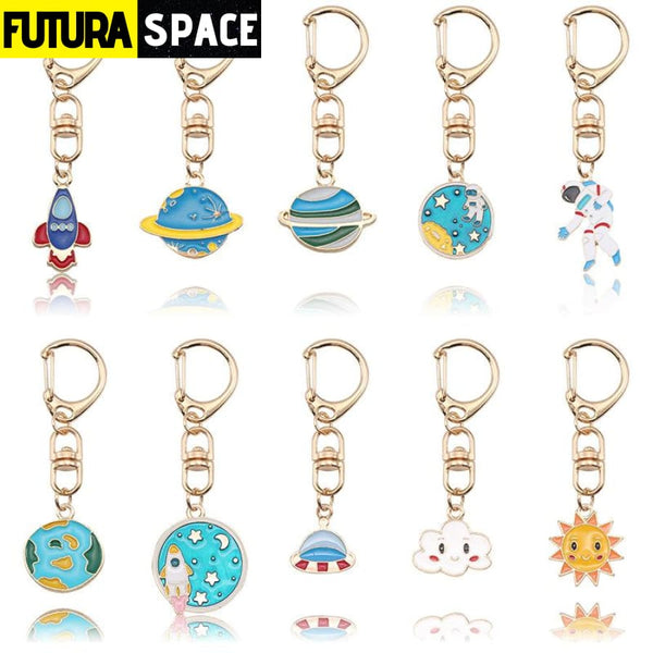 Space themed keychain - 200000174