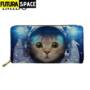SPACE WALLET - Cat Astronaut - 152405