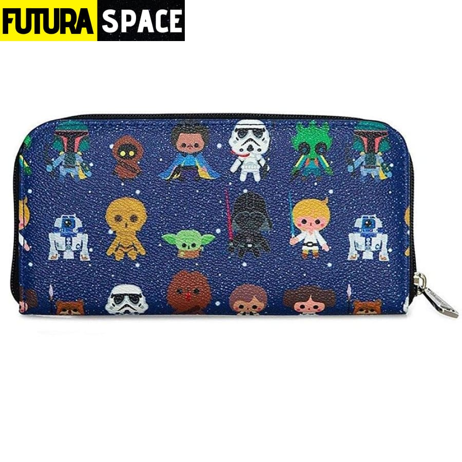 SPACE WALLET - Star Wars Baby - Sky blue - 152405