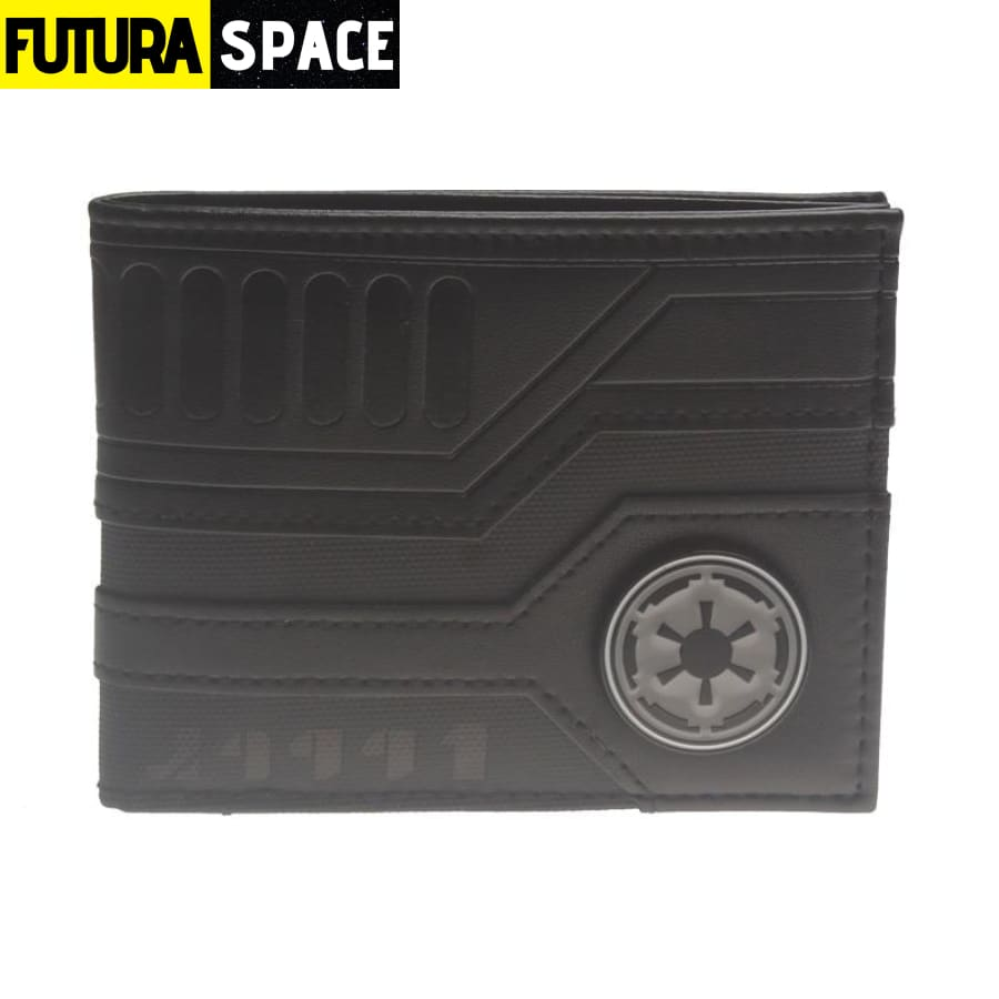SPACE WALLET - Star Wars Bi-Fold - Black - 152405