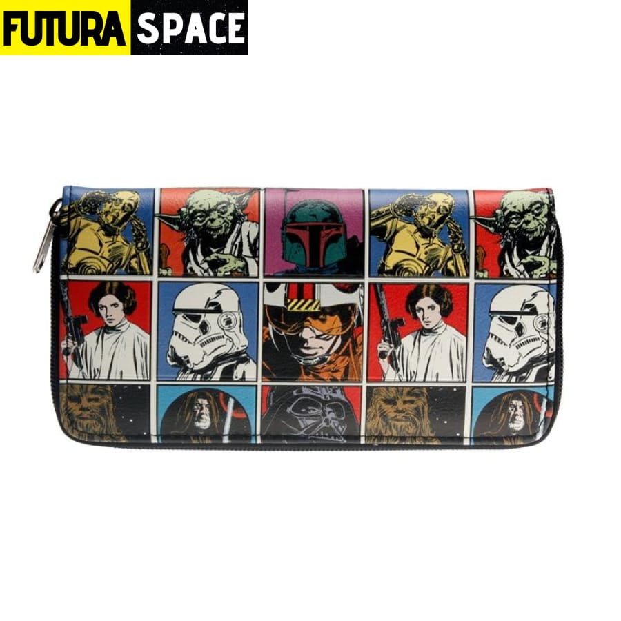 SPACE WALLET - Star Wars Zip - 152405