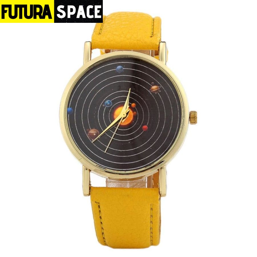 SPACE WATCH - Astronomical - Yellow - 200363144