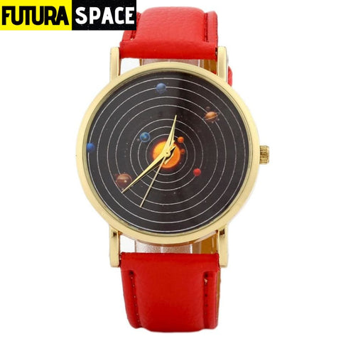SPACE WATCH - Astronomical - Red - 200363144
