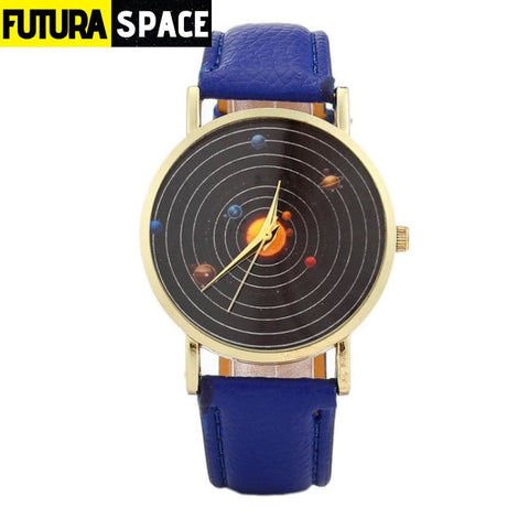 SPACE WATCH - Astronomical - Blue - 200363144