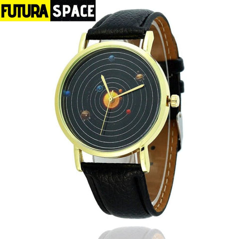 SPACE WATCH - Astronomical - Black - 200363144