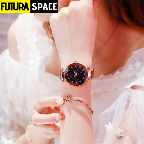 SPACE WATCH - Galaxy Dial - Gold - 200363144