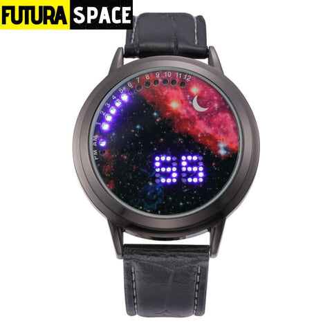 SPACE WATCH - Moon - black red - 200363144