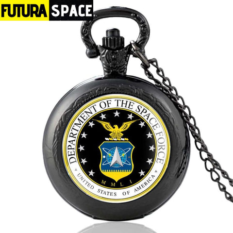 SPACE WATCH - US Space Force - Black - 200000126