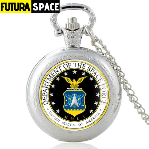 SPACE WATCH - US Space Force - Silver - 200000126