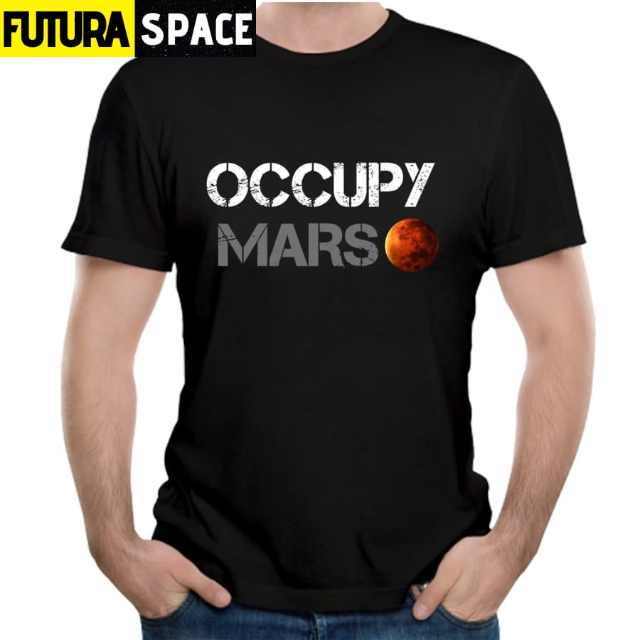 Space X T shirt - Occupy Mars