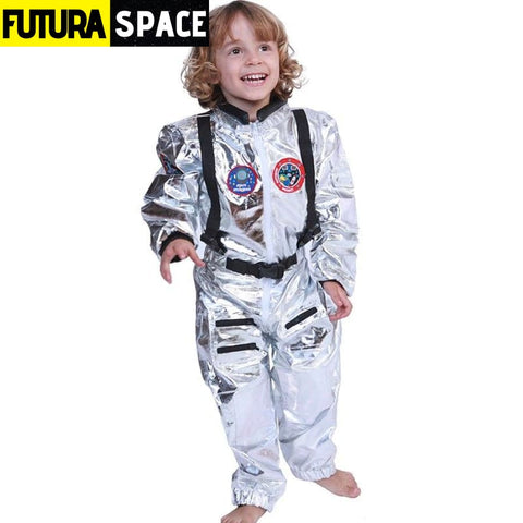 SPACEMAN COSPLAY FOR FAMILY - Kids / S / Astronaut -