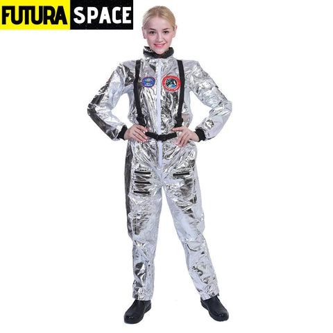 SPACEMAN COSPLAY FOR FAMILY - Women / S / Astronaut -
