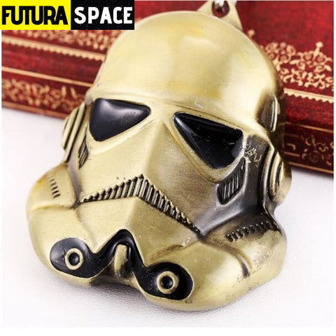 Spaceship K-2SO Falcon Keyrings - bronze - 200000174