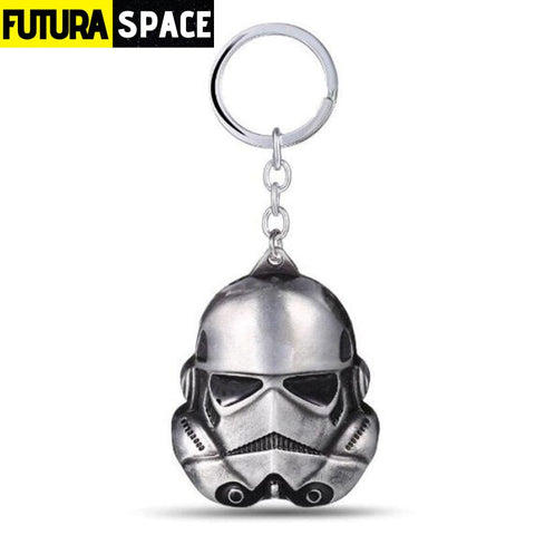 Spaceship K-2SO Falcon Keyrings - silver 3 - 200000174